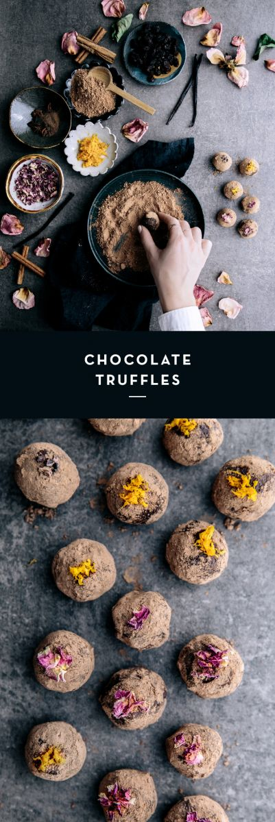 Chocolate Truffles  |  Gather & Feast