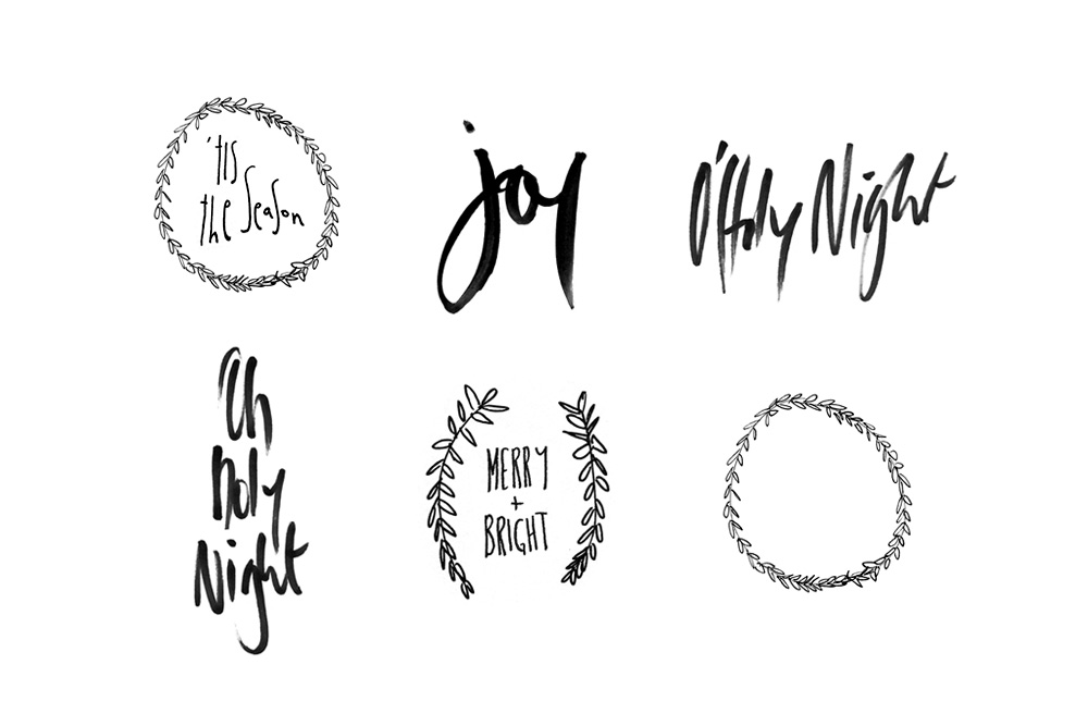 image relating to Printable Christmas Tags Black and White named No cost Xmas Printables Desk Determination Interesting