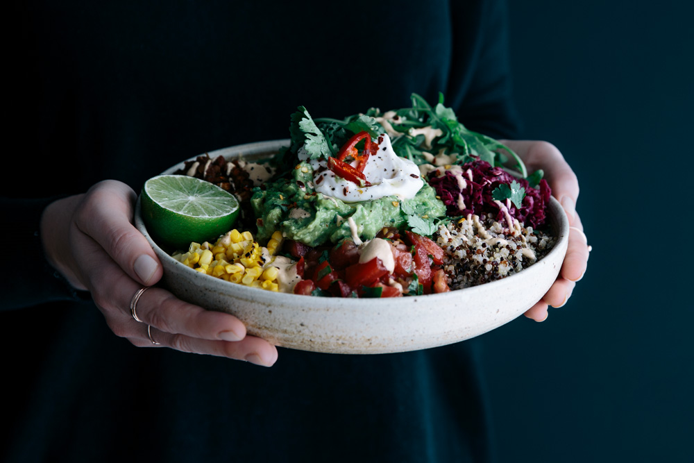 Mexican Salad Bowls & Loaded Nachos  |  Gather & Feast