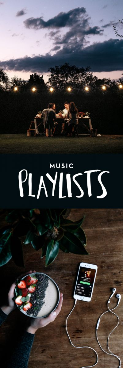 Music Playlists  |  Gather & Feast
