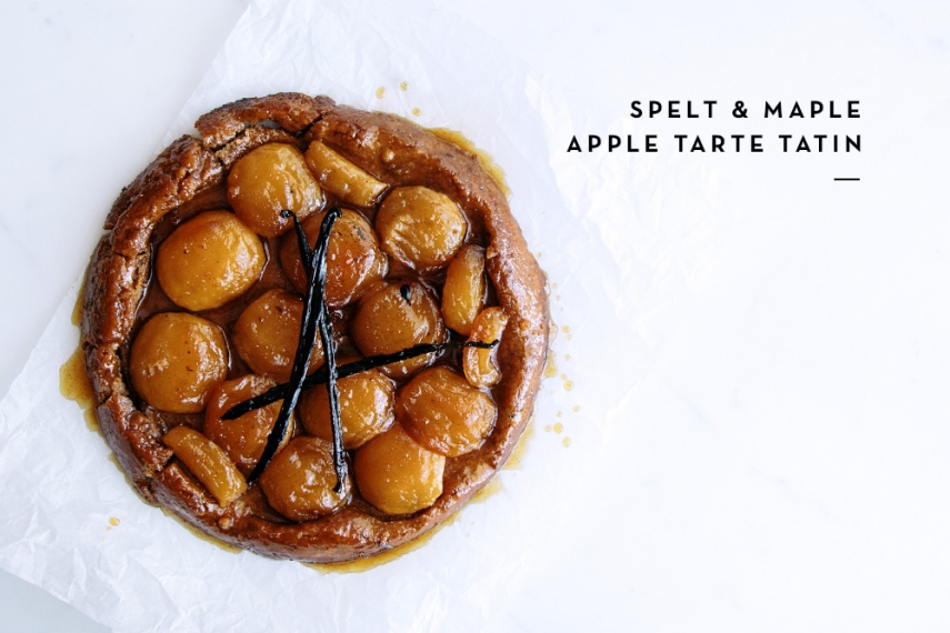 Spelt+%26+Maple+Apple+Tarte+Tatin++%7C++Gather+%26+Feast