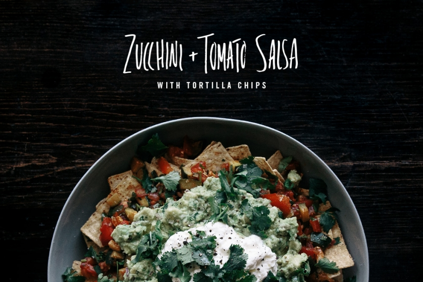 Zucchini+%26+Tomato+Salsa+with+Tortilla+Chips++%7C++Gather+%26+Feast