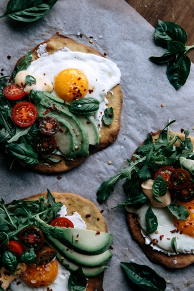 Crispy Buckwheat Breakfast Flatbreads