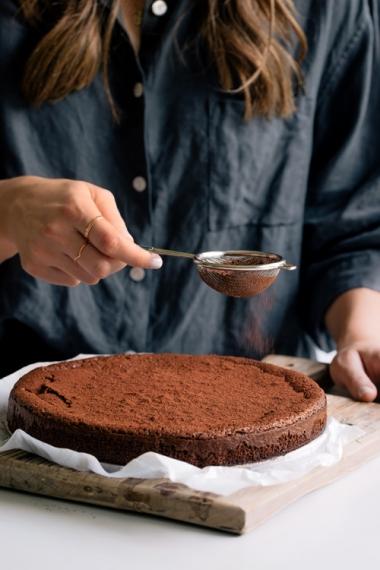 Flourless+Chocolate+Cake++%7C++Gather+%26+Feast