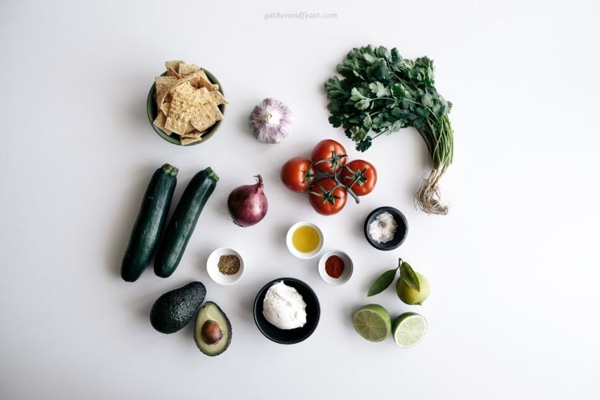 Zucchini+%26+Tomato+Salsa+with+Tortilla+Chips++%7C++Gather+%26+Feast