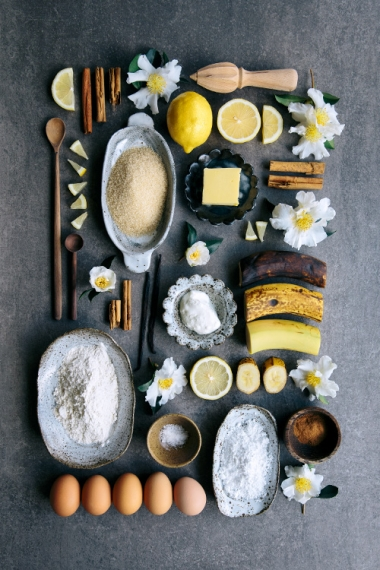 Banana+%26+Vanilla+Layer+Cake++%7C++Gather+%26+Feast