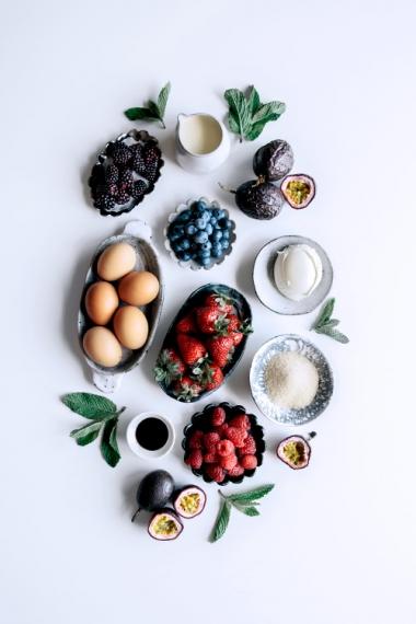 Meringues+with+Vanilla+Mascarpone+Cream%2C+Passionfruit+Curd%2C+Berries+%26+Fresh+Mint++%7C++Gather+%26+Feast