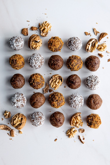 Roasted+Walnut+%26+Maple+Spiced+Protein+Balls++%7C++Gather+%26+Feast