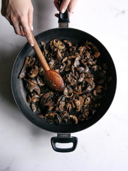 Mushroom%2C+Walnut+%26+Lemon+Spaghetti++%7C++Gather+%26+Feast