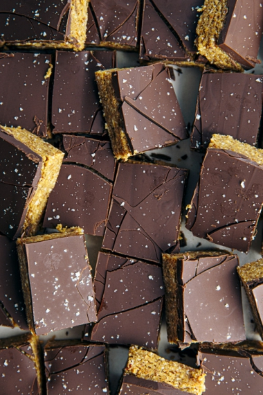 Peanut+Butter+Nutty+Chocolate+Slice++%7C++Gather+%26+Feast