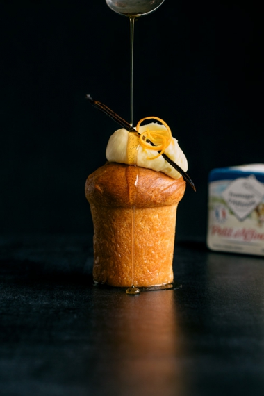 Rum+Baba+with+d%E2%80%99Affinois%2C+Orange+%26+Vanilla++%7C++Gather+%26+Feast