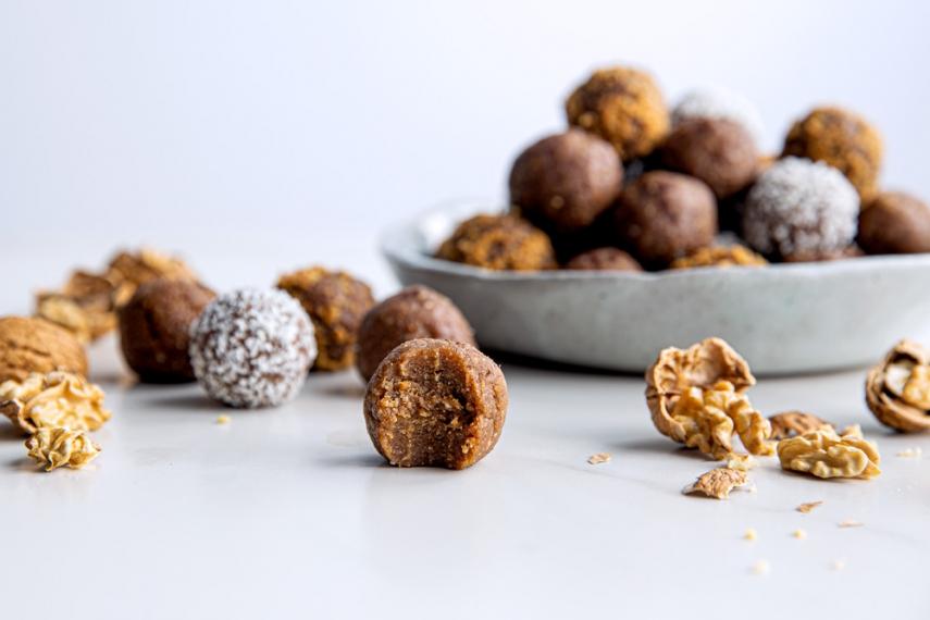 Roasted+Walnut+%26+Maple+Spiced+Protein+Balls++%7C++Gather+%26+Feast