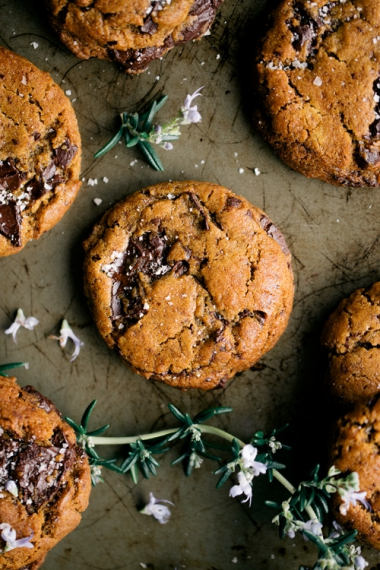 Vegan+Olive+Oil+Chocolate+Chip+Cookies++%7C++Gather+%26+Feast