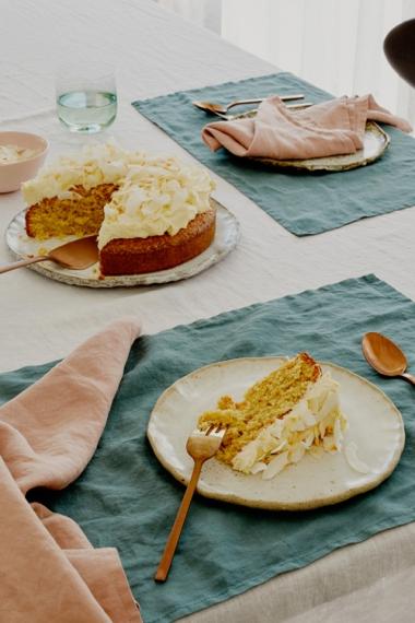 Toasted+Coconut+%26+Vanilla+Cake++%7C++Gather+%26+Feast