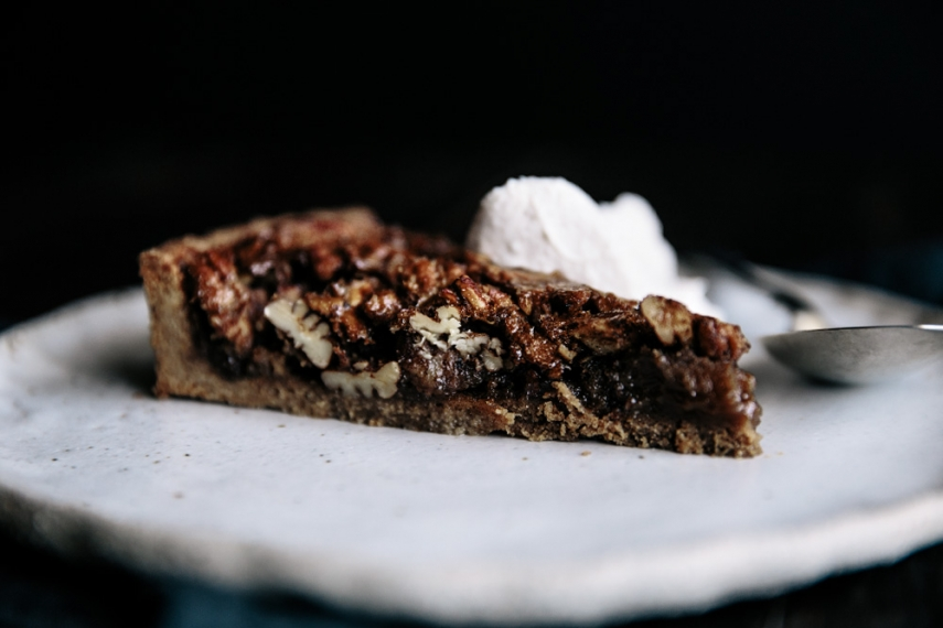 Maple+Pecan+Pie+with+Cinnamon+Spelt+Crust++%7C++Gather+%26+Feast