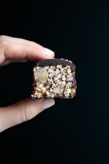 Salted+Honey+Millet+%26+Macadamia+Bars+with+Dark+Chocolate++%7C++Gather+%26+Feast
