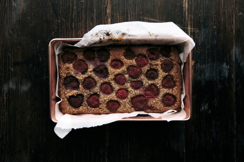 Orange%2C+Vanilla+%26+Raspberry+Paleo+Loaf++%7C++Gather+%26+Feast