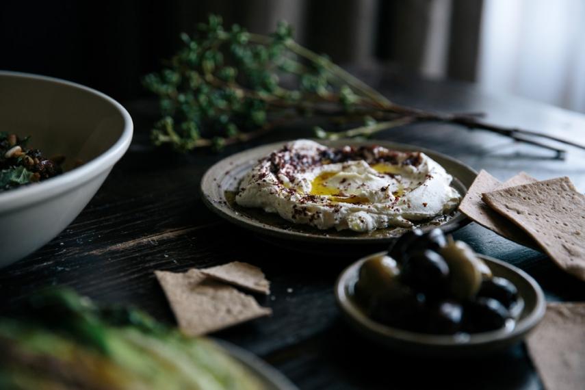 Lamb+%26+Pinenut+Koftas+with+Labneh+%26+Charred+Greens++%7C++Gather+%26+Feast