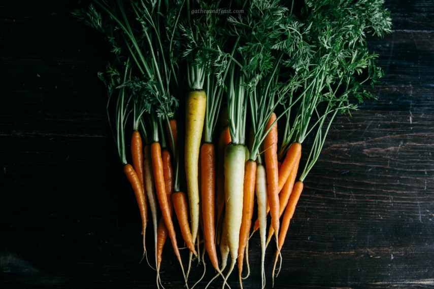 Baby+carrots++%7C++Gather+%26+Feast