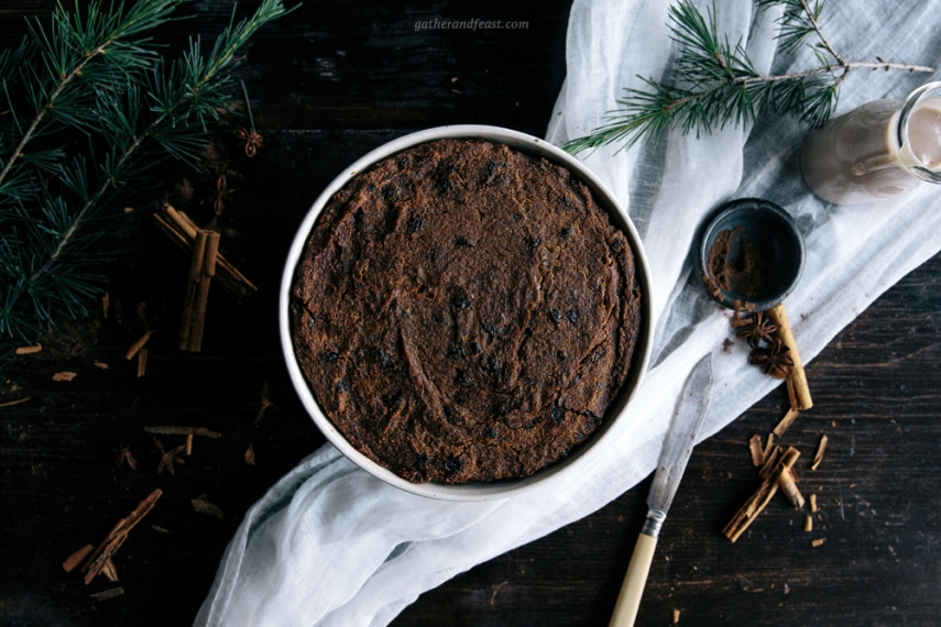 Quick+%26+Healthy+Christmas+Pudding++%7C++Gather+%26+Feast