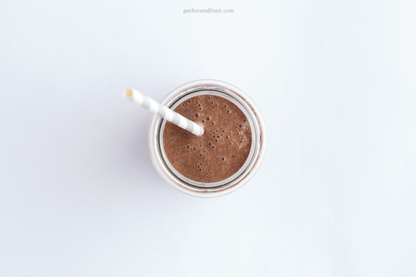 Super+Cacao+%26+Banana+Shake++%7C++Gather+%26+Feast