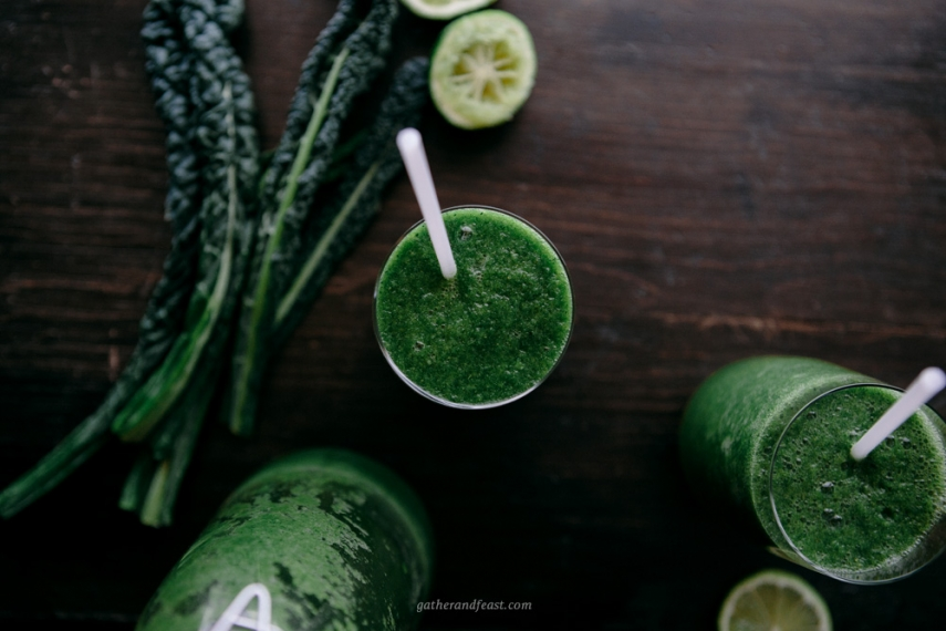 Super+Green+Blend+Smoothie++%7C++Gather+%26+Feast