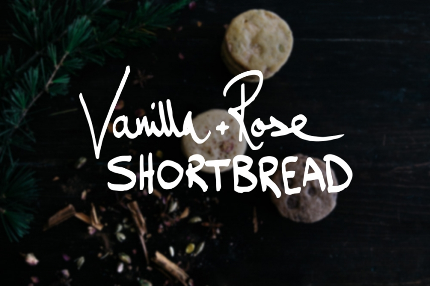 Vanilla+%26+Rose+Shortbread++%7C++Gather+%26+Feast